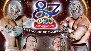 Precio para ver en vivo el 87 Aniversario del Consejo Mundial de Lucha...