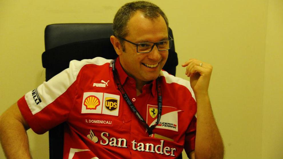 Stefano Domenicali, en su última temporada en Ferrari en una...