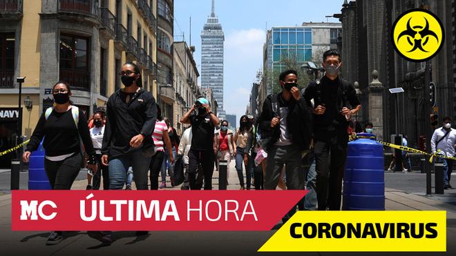 Coronavirus en México en vivo: últimas noticias.