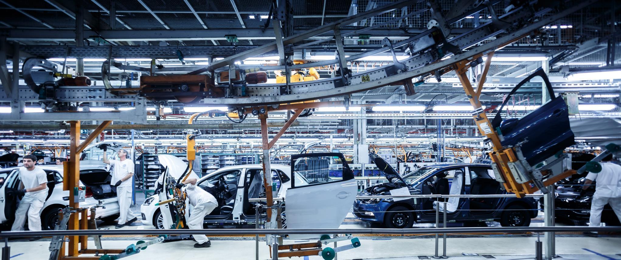 El Volkswagen Polo es uno de los modelos más fabricados en España.