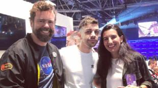 Iván Espinosa y Rocío Monasterio junto a DjMaRiiO en MGW 2019 |...