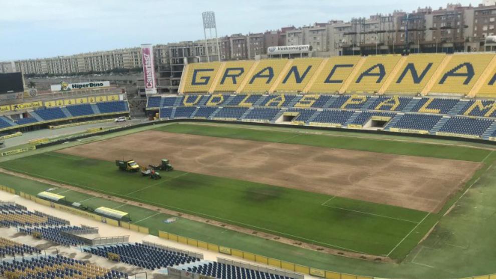 Estadio de la UD Las Palmas.