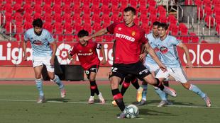 Ante Budimir en un partido de la temporada pasada