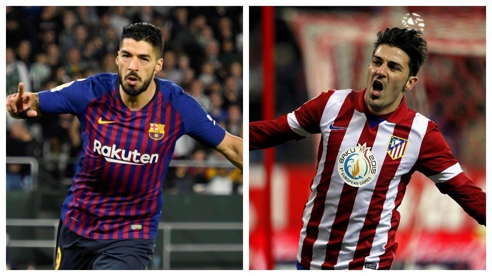 El Atlético hace 'otro Villa' con Luis Suárez
