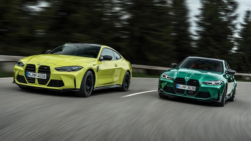 BMW M4 Competition Coupé y BMW M3 Competition 2021