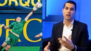 Andrés Fernández, el portero que rompe con todos los estereotipos sociales de un futbolista