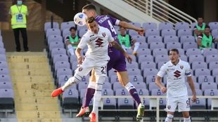 Alex Berenguer fue titular en el estreno de Liga del  Torino ante la...