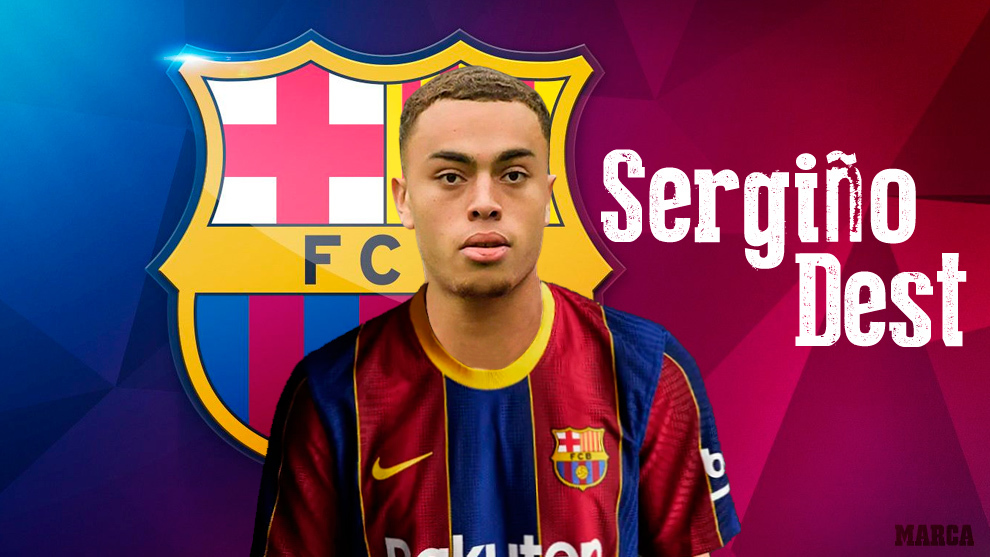 Official: Barcelona sign Sergino Dest