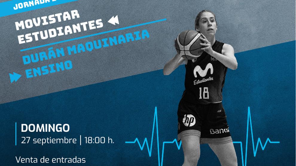 Baloncesto profesional con público en Madrid: el Movistar Estudiantes abre sus puertas