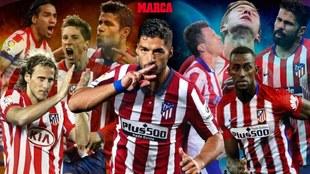 Luis Suarez, la maldicion de ser el 9 del Atletico de Madrid