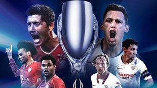 Bayern-Sevilla, última hora de la Supercopa de Europa en directo
