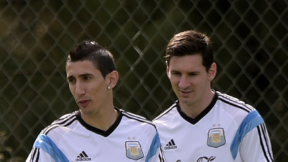 Di Maria fumes at Argentina snub: Messi shouldn't be there either