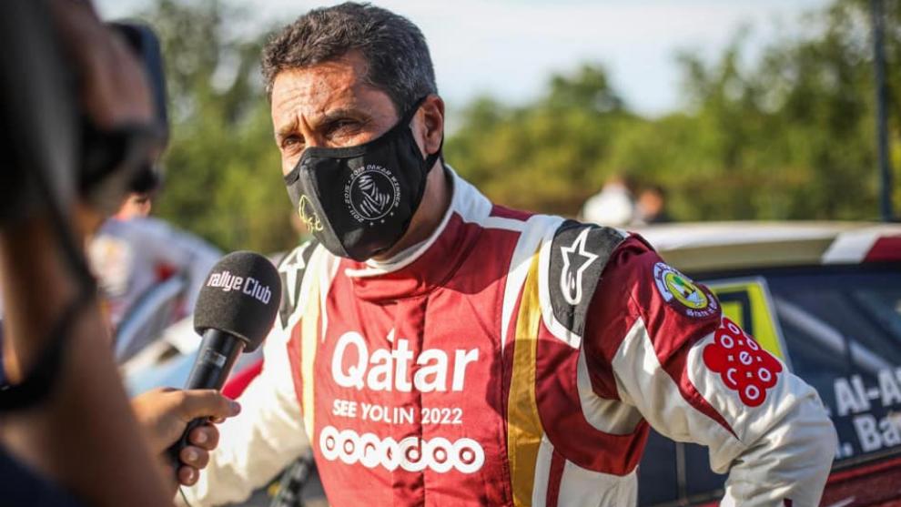 Nasser Al-Attiyah debuta este fin de semana a nivel nacional en el...