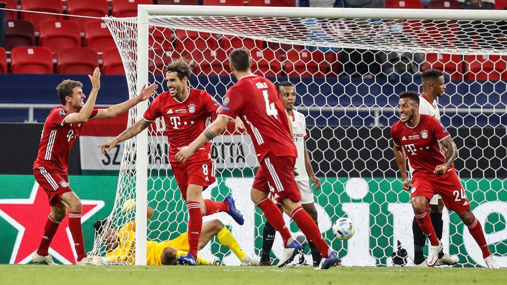 Heroico Sevilla y Bayern supercampeón