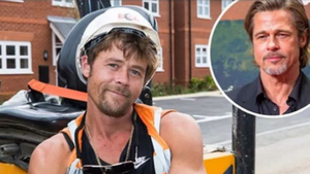 """Nathan Meads, el obrero doble del actor Brad Pitt: """"No puedo ir a..."""