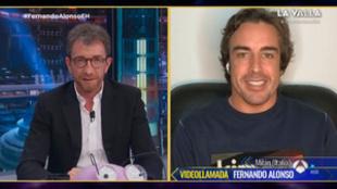 El Hormiguero: Fernando Alonso ha presentado 'Fernando' en...