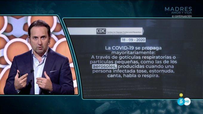 Iker Jimenez Cuarto Milenio Telecinco Television Coronavirus