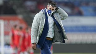 Pezzolano se dijo contento por el funcionamiento del equipo.