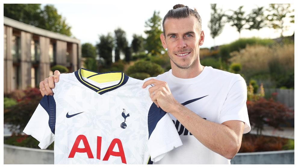 Gareth Bale es presentado en el Tottenham