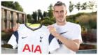 Gareth Bale en su prensentación con los Spurs