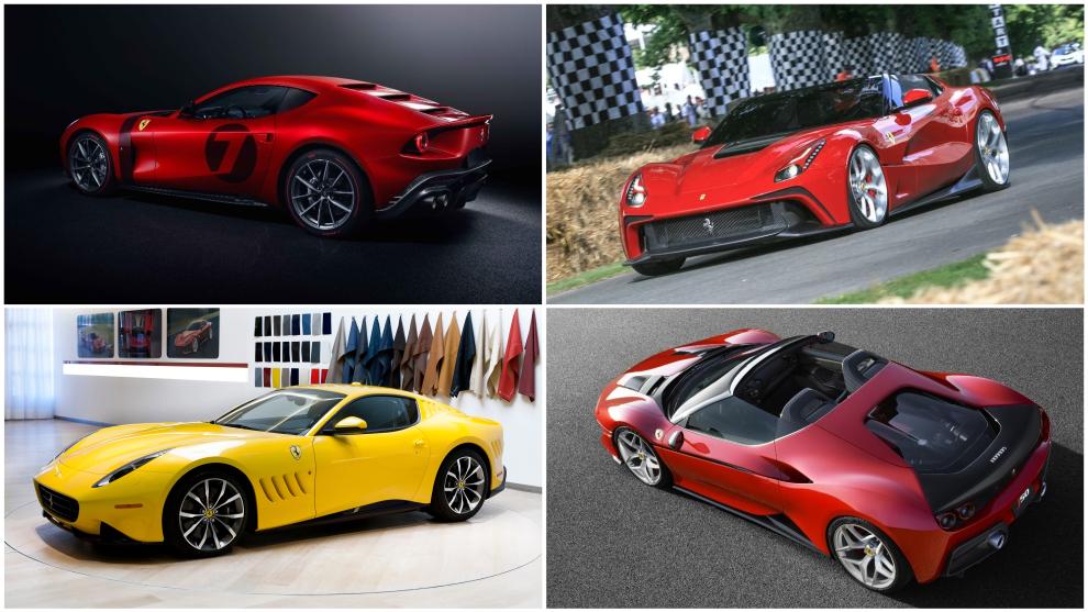 Los one-off de Ferrari: oda a la exclusividad más absoluta