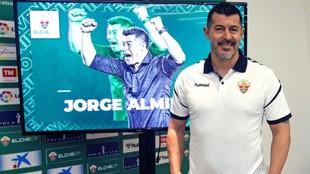 Jorge Almirón, entrenador del Elche.