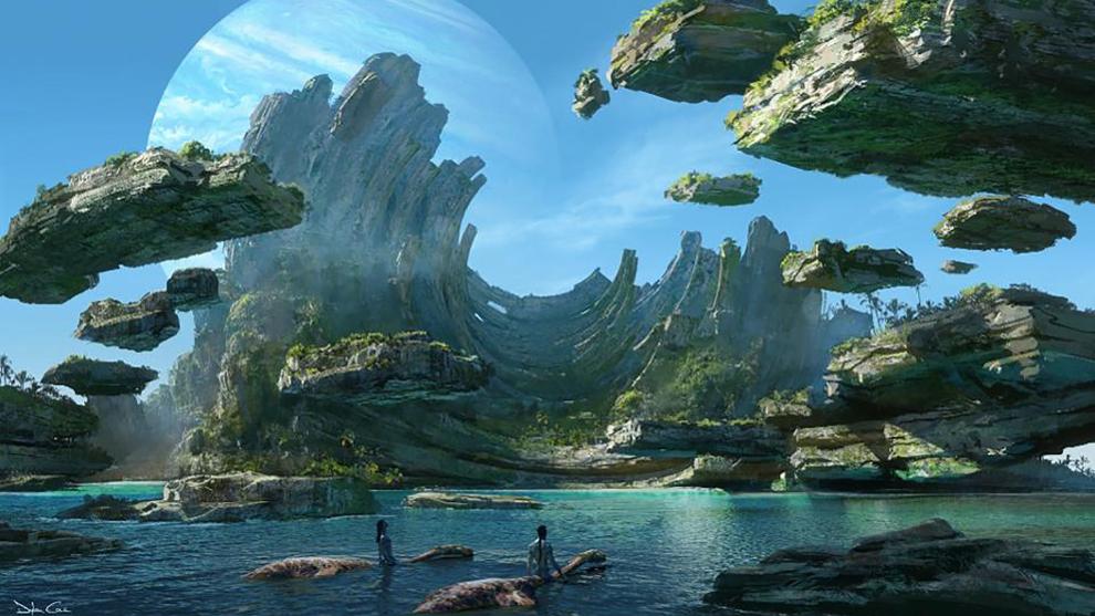 Uno de los escenarios de 'Avatar 2'.