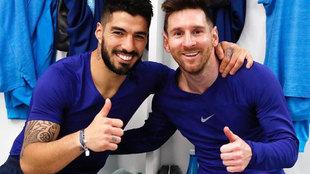 Luis Suarez responde a Messi
