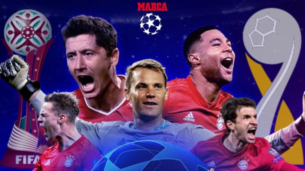 Super Bayern: Two steps from equalling Barcelona's historic sextet