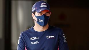 Checo Pérez terminó en quinto y sexto lugar de las prácticas