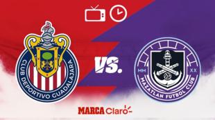 Chivas vs Mazatlán: Cómo ver el partido de la fecha 12  