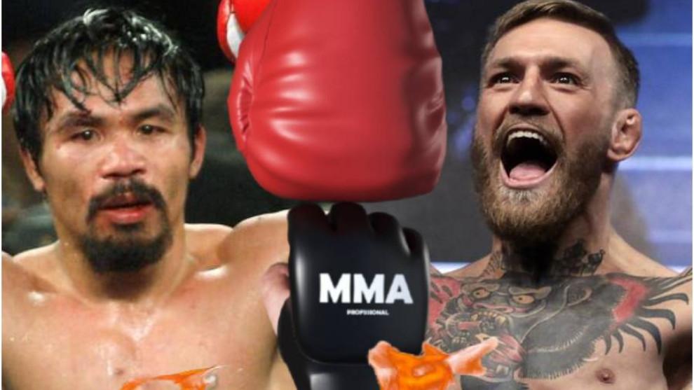 McGregor anuncia una pelea contra Pacquiao en Oriente Medio