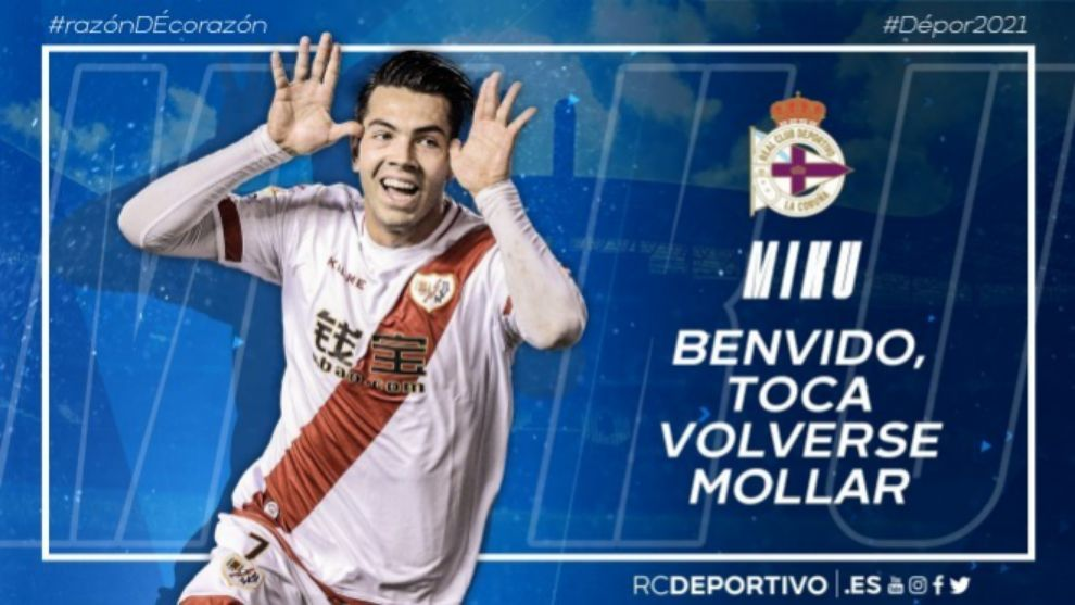 Miku ficha por el Deportivo