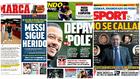 'Messi sigue herido', Depay está en la pole...