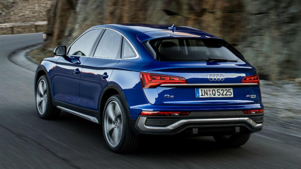 El nuevo modelo de la familia Q5 se caracteriza por su diseño coupé.