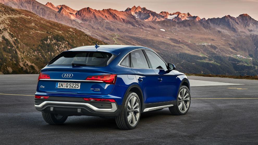 El Q5 Sportback ofrece lo último en tecnologías de iluminación de Audi.