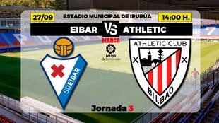 Eibar - Athletic: horario y donde por television el partido de la...