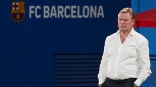 Ronald Koeman, técnico del Barcelona.