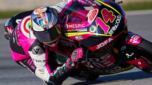 Arbolino, pole Moto3, con Arenas cuarto