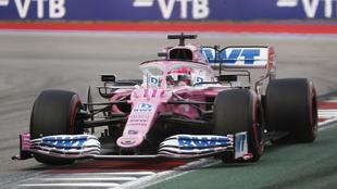 Checo Pérez arrancará cuarto en el GP de Rusia