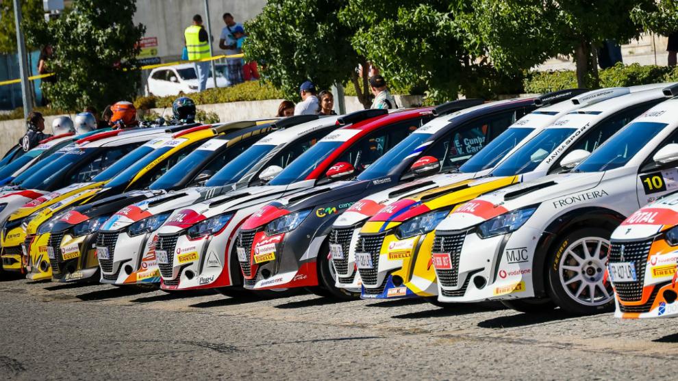 El nuevo Peugeot 208 Rally 4, protagonista este año del campeonato.