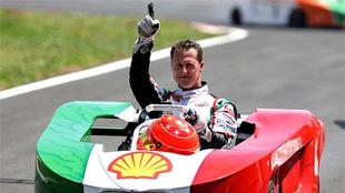 Michael Schumacher, expiloto de Fórmula 1.