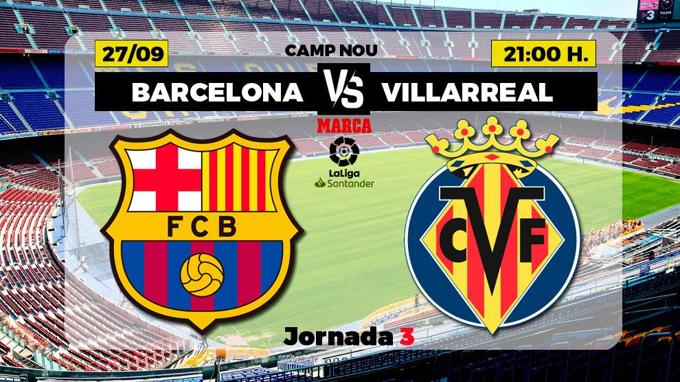 Barcelona vs Villarreal: Football will prove to be a welcome break