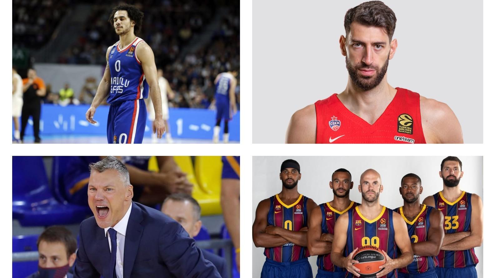 La encuesta entre capitanes de la Euroliga encumbra al Barça, el CSKA y Larkin