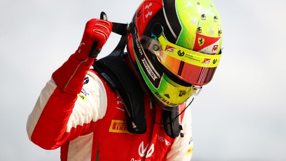 Mick Schumacher wins in Sochi and compares Lewis Hamilton to his father