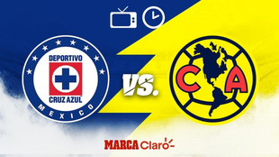 Cruz azul vs America en vivo