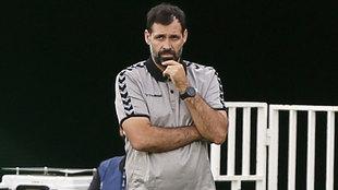 Jesús Muñoz, durante el Elche-Real Sociedad de este sábado.