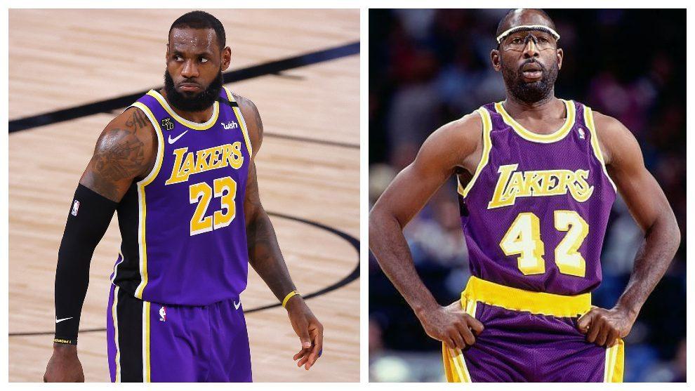 El 'triple-doble' de LeBron James no se veía en los Lakers desde Worthy y el 'showtime'