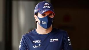Checo Pérez con Racing Point.