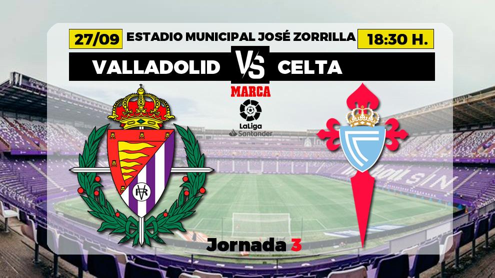 Valladolid - Celta, en directo